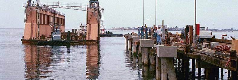 Pier 3 Mooring Dolphin