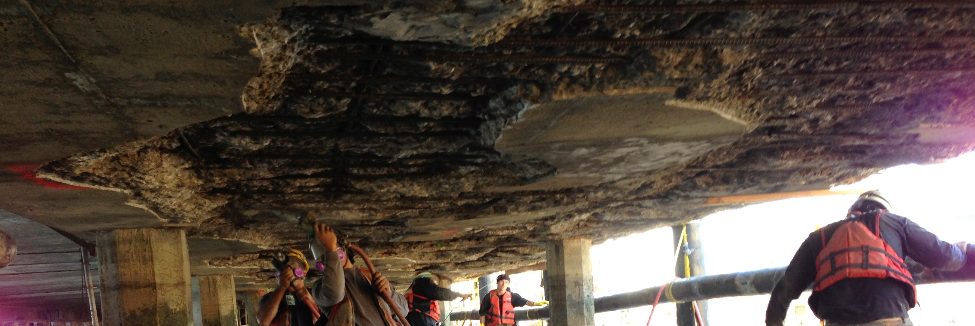 Pier 7 Concrete Repairs