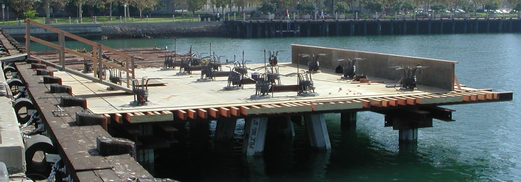 USS Midway Museum Mooring Platforms