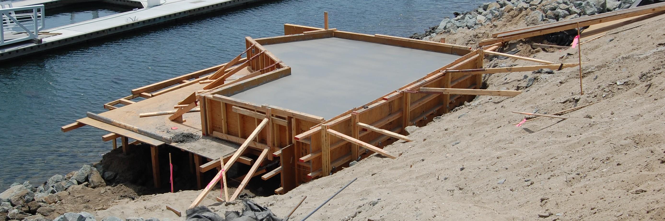 Shoreline Structures – Pier 32 Marina