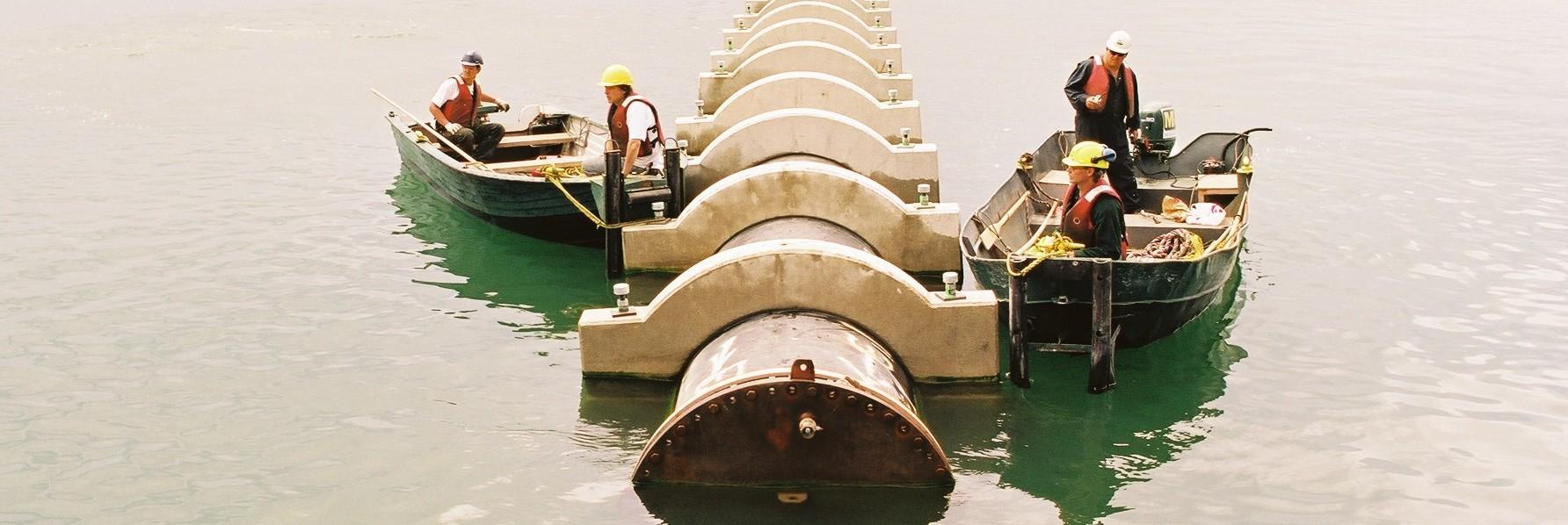 Enwave Cooling Water Intakes