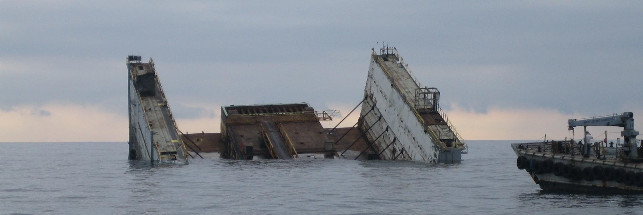 Dry Dock Scuttling
